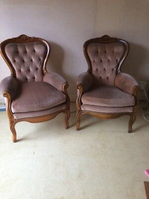 antique Italian style chairs