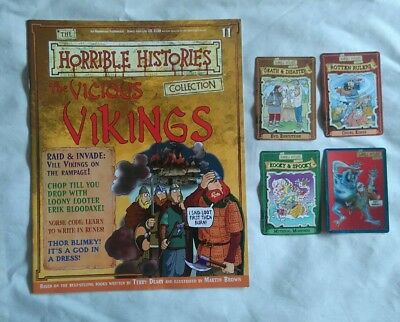 Horrible Histories Magazine Collection | The Vicious Vikings | issue 11