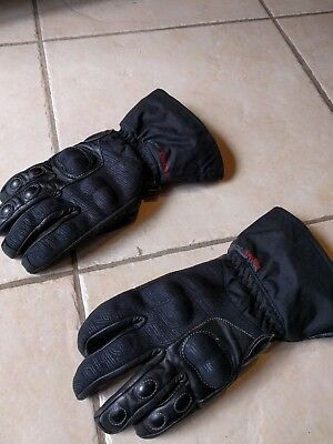 Five brand WFX motorcycle gloves. Size Large / 10