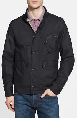 Barbour for Jcrew Ouston Weatherproof Waxed Slim Fit Jacket Size S