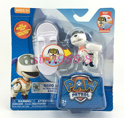 Paw Patrol Figure Toy Robo Ski Snowboard Kids Pup Action Pack Gift Winter Hot