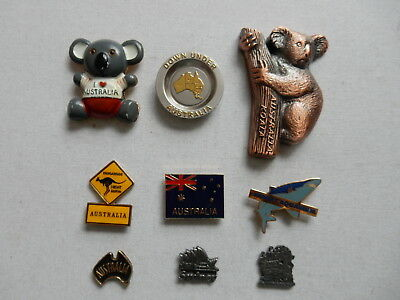 One Selected Metal Souvenir Fridge Magnet from Australia