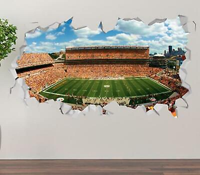 Astrodome Stadium Houston Texas Wall Decal 3D Smashed Sticker Mural Decor OP418