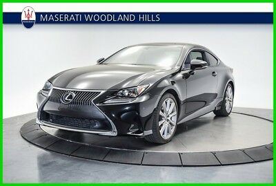 2015 Lexus RC 350 2015 LEXUS RC350  *** HEAVILY EQUIPPED - PRICED TO SELL ***