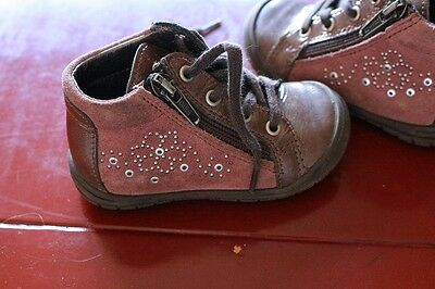 bottines fille taille 20 cypres kid