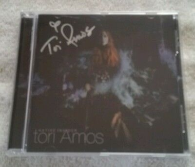 Tori Amos Native Invader Brand New And Sealed Signed Cd