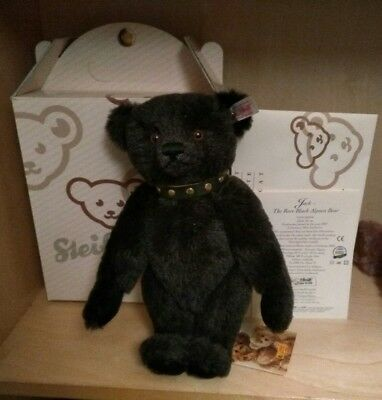 Jack Alpaca Black Bear by Steiff