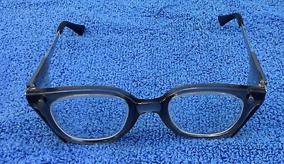 Fend-all Vintage Safety Glasses Steam Punk Old School Look MKS 44 Multi Fit