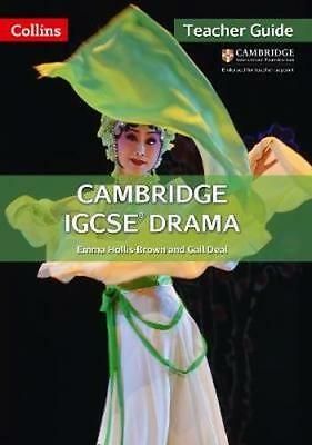 NEW Cambridge Igcse (r) Drama Teacher Guide by Emma Brown BOOK (Spiral bound)