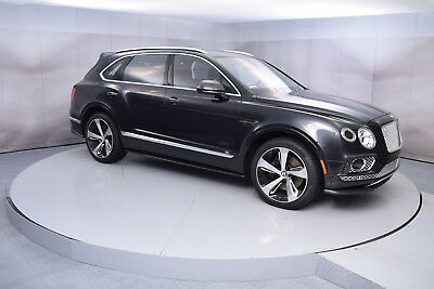 2017 Bentley BENTAYGA FIRST EDITION First Edition in Onyx with 4,646 miles 2017 BENTLEY BENTAYGA FIRST EDITION IN ONYX WITH BELUGA LOW MILES