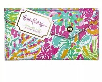NWT LILLY PULITZER SUNGLASS GLASSES CASE SPOT YA Collapsible