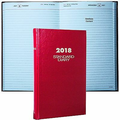 """2018 At-A-Glance Standard Diary SD376 Daily Journal, 7.69 x 12.12"""", Hard Cover"""