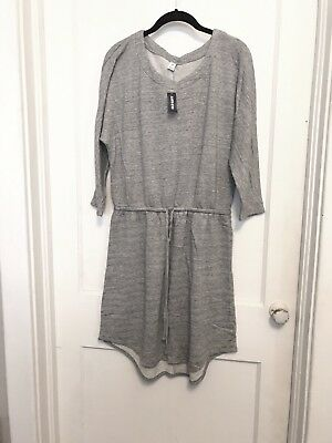 Old Navy Gray Sweater Dress Large