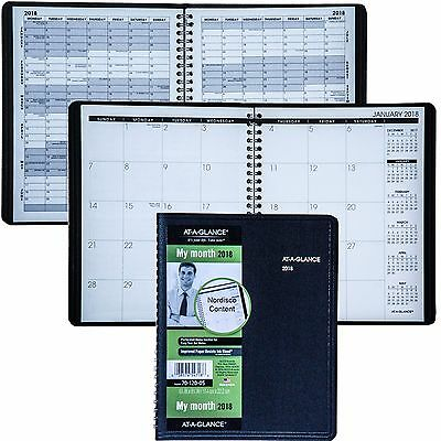 """2018 At-A-Glance 70-120 70-120-05, Monthly Planner, 6-7/8 x 8-3/4"""""""