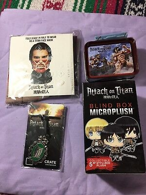 Attack On Titan Mixed Lot