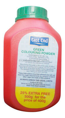 East End Green Food Colouring Powder Cake Decoration Icing Baking Desserts 500g