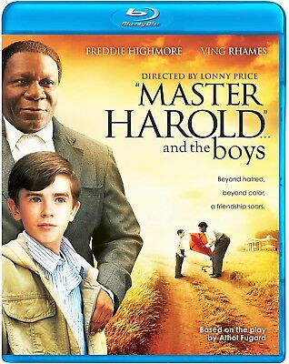 Master Harold And The Boys (Freddie Highmore) *new Blu-Ray*