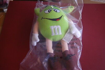 M&M's SMALL SHREK PEANUT GUY PLUSH NEW AND SEALED FREE SHIPPING