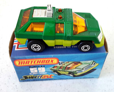 matchbox  superfast  No 59  planet scout new in box