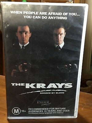 THE KRAYS on VHS Video
