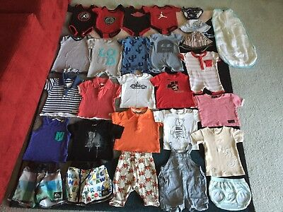 Bulk lot baby boys sz 00 summer clothes Quiksilver Hurley Country Road Minti