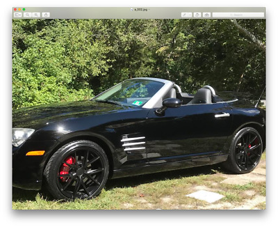 2005 Chrysler Crossfire Limited 2005 Chrysler Crossfire limited convertible