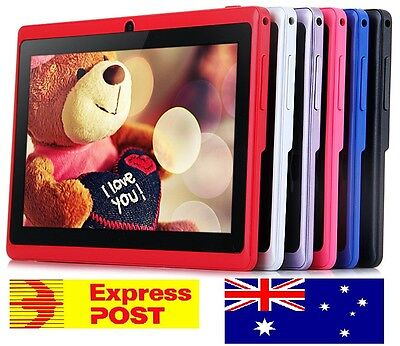 "7"" Android 4.4 Quad Core Kids Tablet PC Dual Camera  WiFi  + Q88, SALE. 7inch"