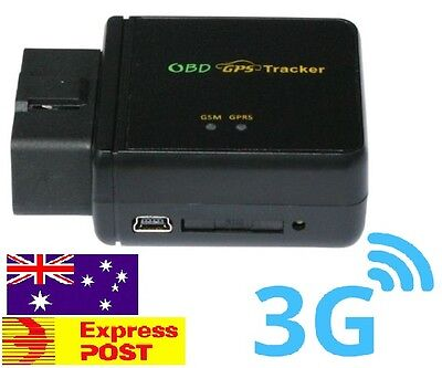 3G OBDII GPS Mini Tracker, Vehicle Car Spy OBD2.. live Realtime Tracking 2017 3G