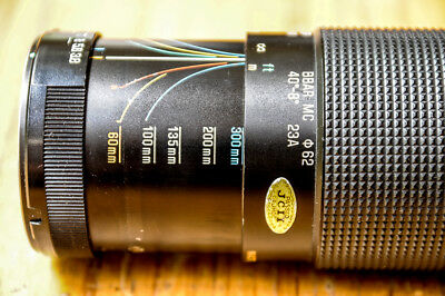 Tamron SP 23A 60-300mm f3.8-4.5 Zoom Lens suits Canon, Nikon etc with adapter