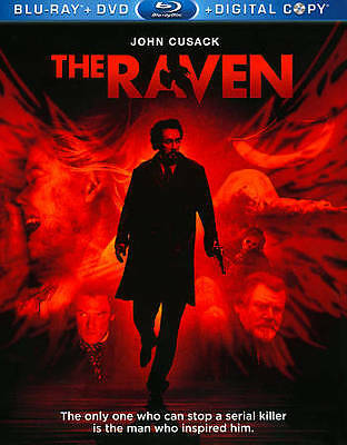 The Raven (Blu-ray   DVD ~ 2-Disc Set) ~ New & Factory Sealed!
