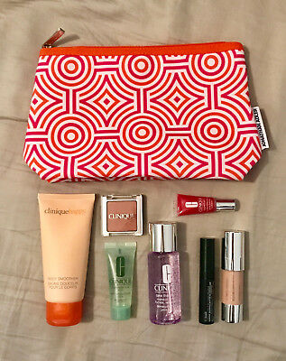 Clinique Mixed Sample Pack With Jonathan Adler Bag New