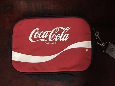 Coca Cola Collectible Coke Soda Advertising Red Travel Bag Accessory