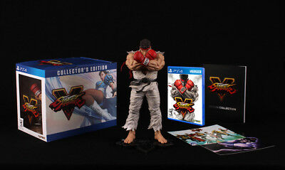 Street Fighter 5 Collector's Edition Playstation 4 Brand New! Ryu