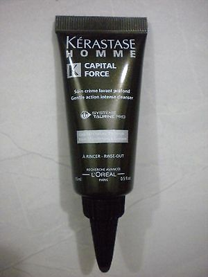 Kerastase Homme Capital Force Intense Cleansing Rinse-Out Treatment 15ml