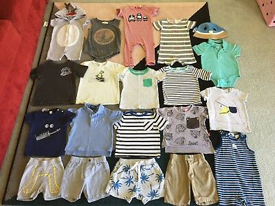 Bulk lot boys sz 1 summer clothes RockYourBaby Seed Fred Country Road Zara Ralph