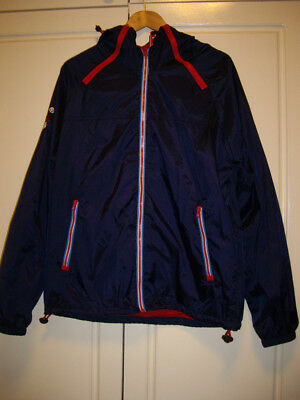 Men's Superdry Jacket (Navy) Windcagoule XL- New without tags