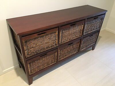 Buffet Unit Solid Timber