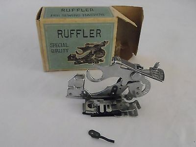 Vintage Ruffler Special Quality for Sewing Machine Singer etc in original box VG
