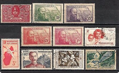 MADAGASCAR 1930-57 Collection Mint & Used 4 Scans.