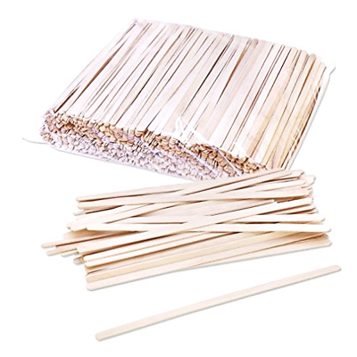 Stirrers Coffee Stir Sticks Solo Birch Wood Disposable C-10C 7 Inch 1000 Pieces