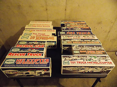 Hess Truck Collection 17 Piece Hess Truck Collection in Original Packaging