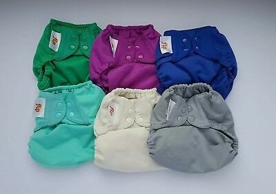 Bumgenius flip wrap nappy covers + inserts (pre-owned)