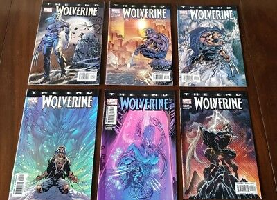 Wolverine:The End #1-6 complete set