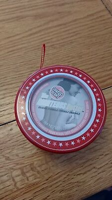 soap and glory righteous butter christmas bauble tin