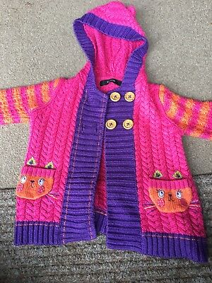 Knitted Cat Jumper 12-18months