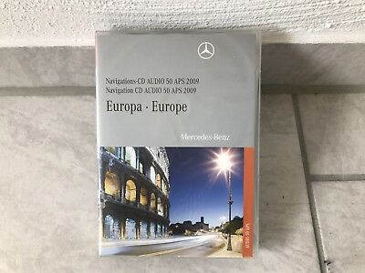 mercedes navigation dvd audio 50 aps europa 2010 2011. Black Bedroom Furniture Sets. Home Design Ideas