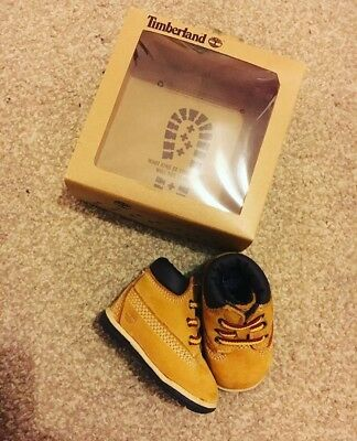 Baby Boy Girl Hard Sole Timberland Boots Timbs Shoes