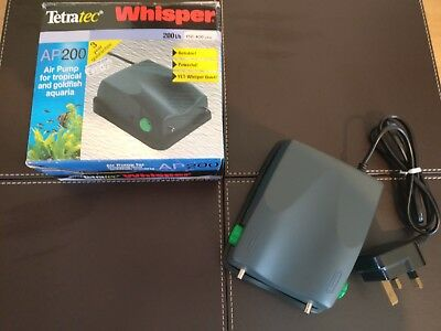 Tetra Whisper Ap 200 Air Pump