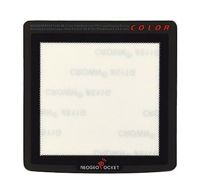 Real Glass Neo Geo Pocket Color Screen Protector [Lens, Cover]
