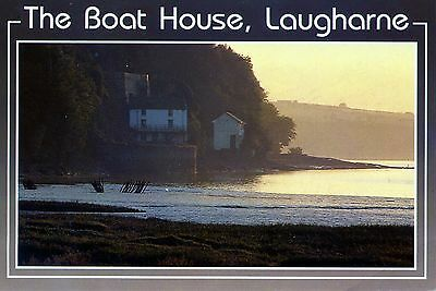 Dyfed: The Boat House: Laugharne